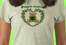 ! ! A+ St. Patrick's Day T-shirts / St. Patrick's Day T-Shirts for women, men and children. From POD stores: Zazzle, 3dRose and more. Shirts featured in articles, all that lead to great buys.