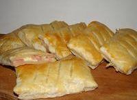 sajtos sonkàs leveles pàrna.rétes lapból