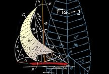 """SAILING + NAUTICAL / """"The sail, the play of its pulse so like our own lives: so thin and yet so full of life, so noiseless when it labors hardest, so noisy and impatient when least effective."""" ~Henry David Thoreau"""