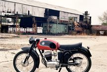 Motorbikes of the fifties