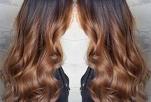 Ombré hair/colors/coiffure