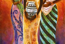 African painting 1