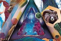 """Lenticular """"3D"""" Posters / These posters have the illusion on being 3D and holographic.  / by PosterScene.com"""