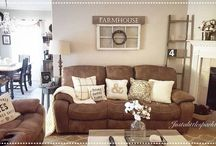 Brown couch ideas