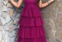 Shilpa Reddy 5 layered frill dress