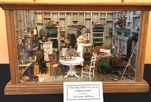 Birdie Gallery in Noblesville exhibit / Museum of Miniature Houses takes center stage at the Birdie Gallery in Noblesville, IN in December 2015.