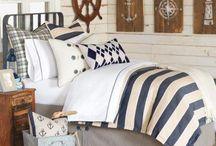 Schlafzimmer maritim