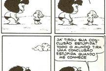 Mafalda by Quino / Sou apenas uma fã ...