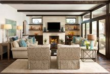 lovely living spaces / by Onjali Pettingill