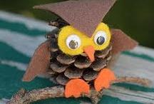 Owls / by Monica Gonzalez Sevilla