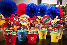 Superheroes and Villains Parties