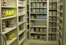 Pantry / Pantries, storage.  A place for the stuff