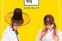 Akdong Musician / South Korean duo debuted under YG Entertainment, consisting of siblings Lee Chanhyuk and Lee Suhyun