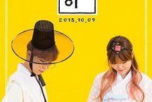 Akdong Musician / South Korean duo debuted under YG Entertainment, consisting of siblings Lee Chanhyuk and Lee Suhyun