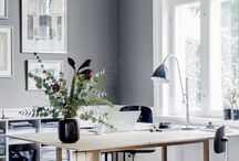 Spaces: Home office