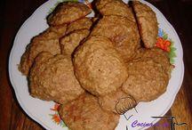 Galletas de avena y canela / Receta disponible en: http://cocinaatuestilo.blogspot.com/2014/11/galletas-de-avena-y-canela.html