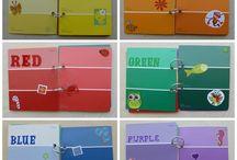 Colour activities pre school