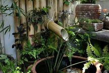 Creaciones con bambú.