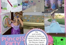 Princess party ideas / by Brandi Applegate