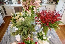 Holidays and Events Decorating Ideas / Flowers for Festivities! Decorate for holidays or events with beautiful flowers to add a natural 'wow' factor and make your event unforgettable!