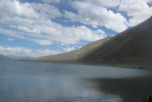 Pangong Lake, Leh-Ladakh  #serene #voyage4all / Here is you'll find our pins. The picture that we clicked and the moments that we lived here on Voyage4All; they eventually adds to all the memorable time.