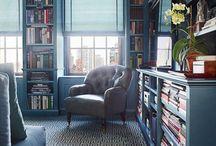 duvar kitaplığı