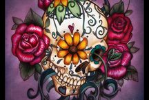 Sugar skull - Day of the dead