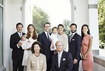 Schwedisches Königshaus / Mitglieder der schwedischen Königsfamilie, Schlösser, Wohnsitze, Hochzeiten und Events der Royals in Schweden