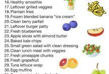 Healthy Foods & Snacks