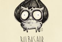 Pokemon If They Were Created By Tim Burton / by Roberto Martins