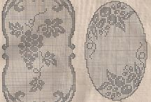 Tapetes e toalhas de croche