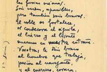 Antonio Oliver - Poemas Manuscritos