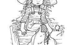 HOLLY HOBBIE COLORING FREE