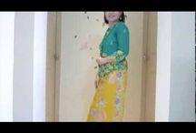 Tutorial sarong pernakan brooch