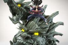figures: animes/comics