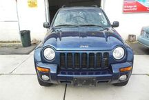 Used 2002 Jeep Liberty for Sale ($4,00) at Paterson, NJ / Make:  Jeep, Model:  Liberty, Year:  2002, Body Style:  Tractor, Exterior Color: Blue, Interior Color: Gray, Vehicle Condition: Excellent,  Mileage:142,963 mi, Engine: 6Cylinder 3.7L V6 SOHC 12V, Fuel: Gasoline Hybrid, Transmission: Other.   Contact: 973-925-5626   Car ID (56654)