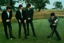 BEATLES 1962~1966 / Pictures of two or more members of the early Fab Four~ / by Larry Trasciatti