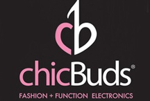 """CHICBUDS / In a society where fashion is haute and electronics are in demand, the chic ladies saw their opening. """"No one offered what we really wanted in electronics, the perfect combination of fashion and function,"""" said Kailynn Bowling when describing the inspiration behind the brand. Women want the whole package, an electronic device that's not only eye candy, but functions beautifully too - that's what ChicBuds is all about. / by LAStyleRush .com"""