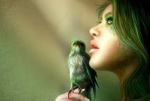 Pretty birds / by Sara Ford