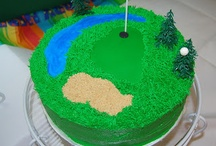 Golf cake ideas