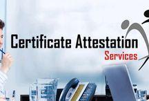 Document/Certifiacte Attestation
