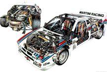 Gruppo B rally car