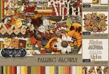 {Falling Slowly} Kit, Extras and Layouts