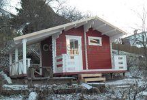 Садовые домики / Изготовление домов