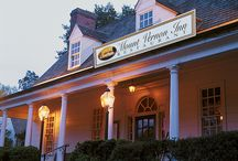 'Mount Vernon Inn restaurant / Located1_b@b_1George Washington's Mount Vernon. The charming Mount Vernon Inn restaurant serves lunch and elegant candlelit dinners daily. The Inn offers six intimate dining rooms, two with fireplaces, all with colonial charm, costumed servers, and delicious regional and colonial cuisine. Admission is not required to dine1_b@b_1the Mount Vernon Inn restaurant.' from the web at 'https://s-media-cache-ak0.pinimg.com/216x146/ca/ea/58/caea58a064d4041a28b74eae7e9016d1.jpg'
