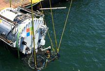 Microsoft Data Centre / Microsoft tests underwater data centre