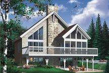 Don't Confuse the Contemporary with Modern House Plans! / It's more fascinating and exciting than the Modern house style. Often overlooked, the Contemporary design - with its gables, angles and a number of attractive exterior materials - may become a surprise favorite.  http://bit.ly/1n69GsH