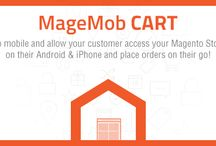 MageMob Cart / Go mobile and allow your customer access your Magento Store on their Android & iPhone and place orders on their go!
