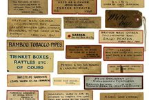 History of museum labels