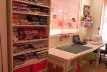 Decoração que adoro Home Office / Salas para trabalhar
